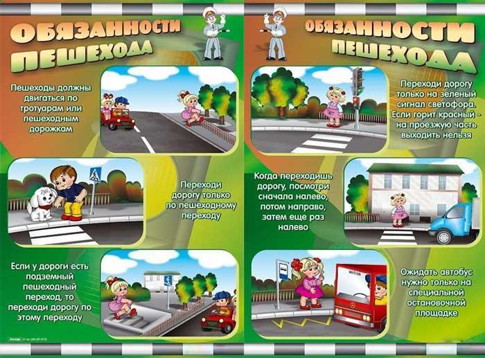 Пдд права и обязанности пешеходов